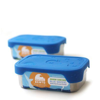 ECOlunchbox Splash Box lekdichte lunchtrommel broodtrommel meenemen roestvrij staal bpa-vrij duurzaam vaatwasser oven school