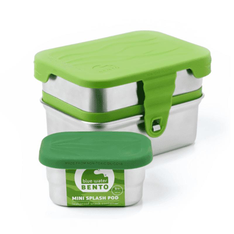 Ecolunchbox plasticvrij RVS lunchtrommel Splash Box 3-in-1 lekvrij duurzaam milieuvriendelijk stevig kopen