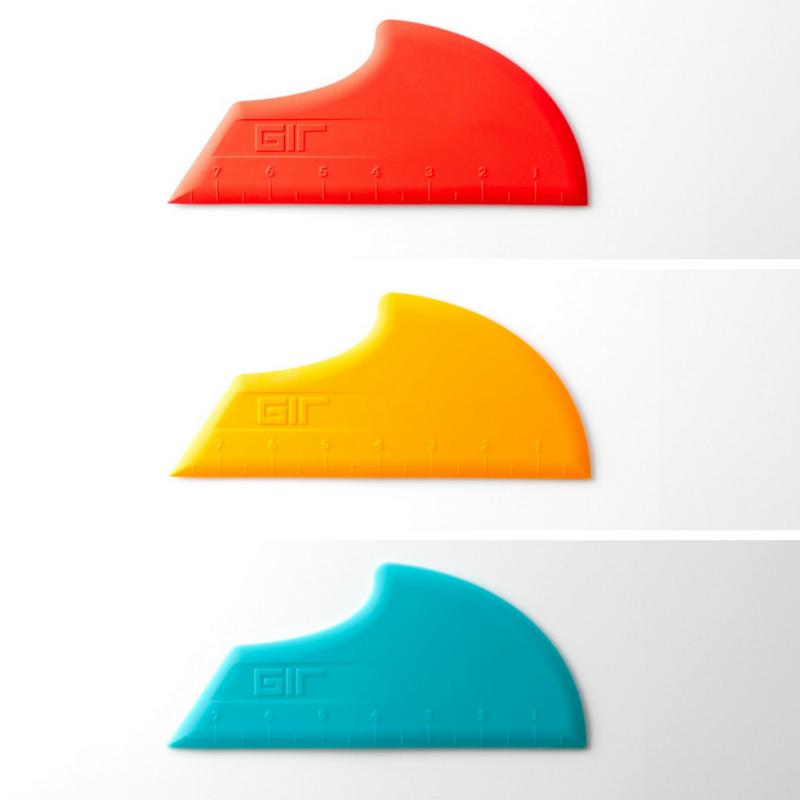 GIR Scraper siliconen deegschraper keuken BPA-vrij hittebestendig vaatwasser geel rood blauw