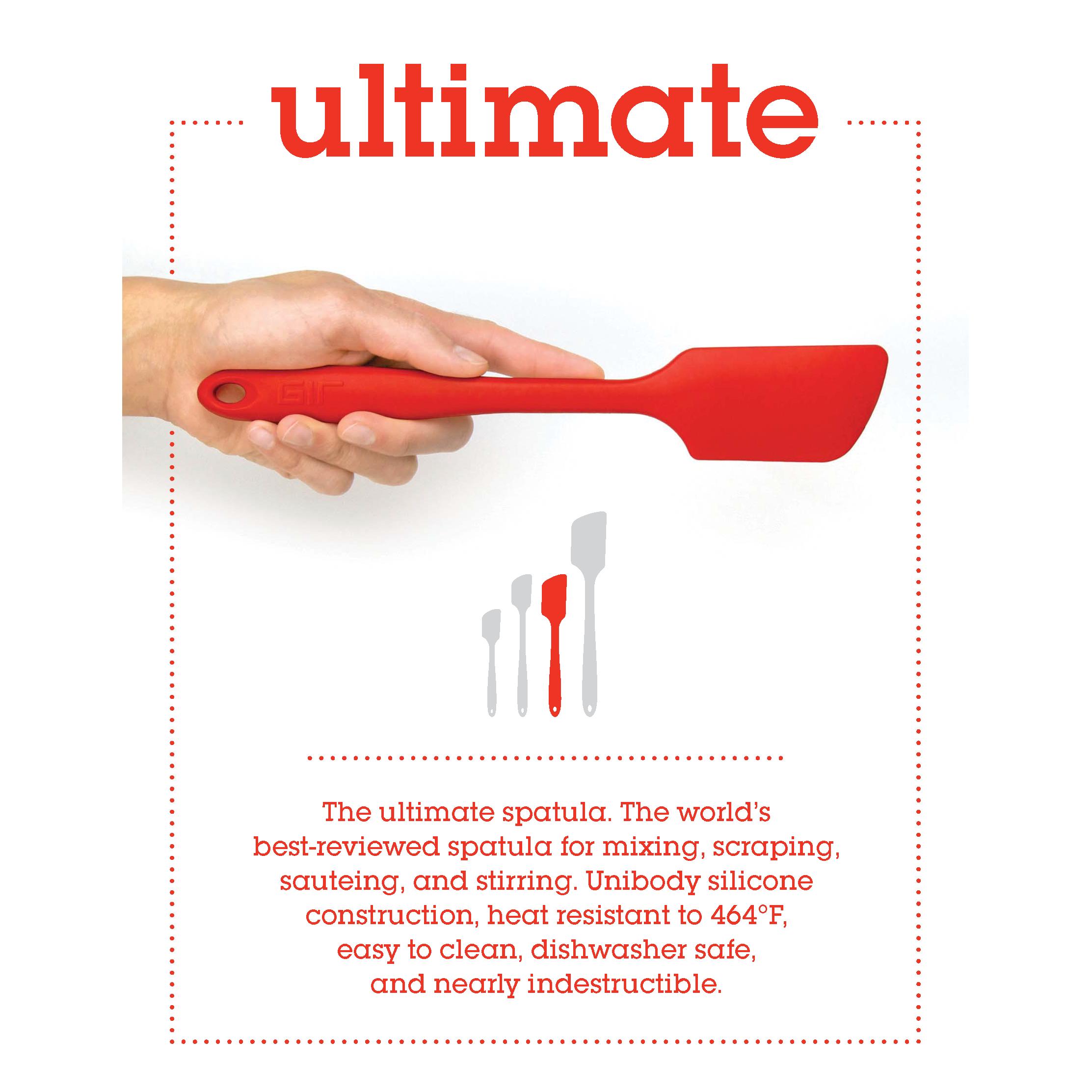 GIR Ultimate spatula keukengerei siliconen bpa-vrij spatel bakspatel