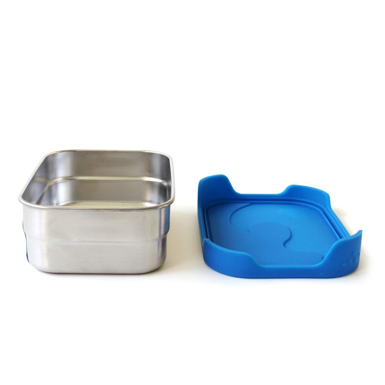 ECOlunchbox Splash Box lekdichte lunchtrommel broodtrommel meenemen roestvrij staal bpa-vrij duurzaam vaatwasser oven binnenkant