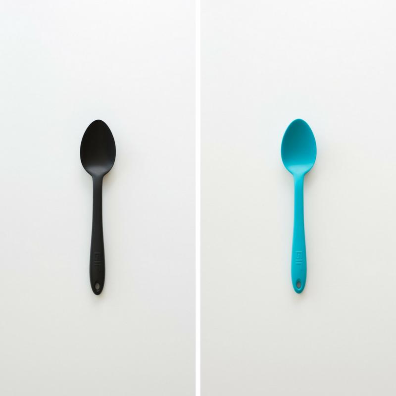 GIR Mini Spoon kopen blauw zwart kleine theelepel koken bpa-vrij vaatwasser duurzaam herbruikbaar