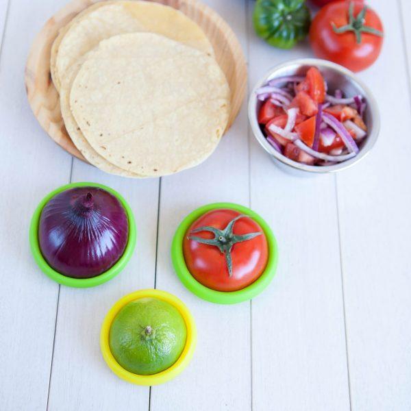 Food Huggers luchtdicht bewaren groente fruit koelkast langer houdbaar