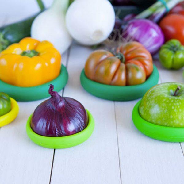 Food Huggers avocado bewaren koelkast appel ui tomaat paprika