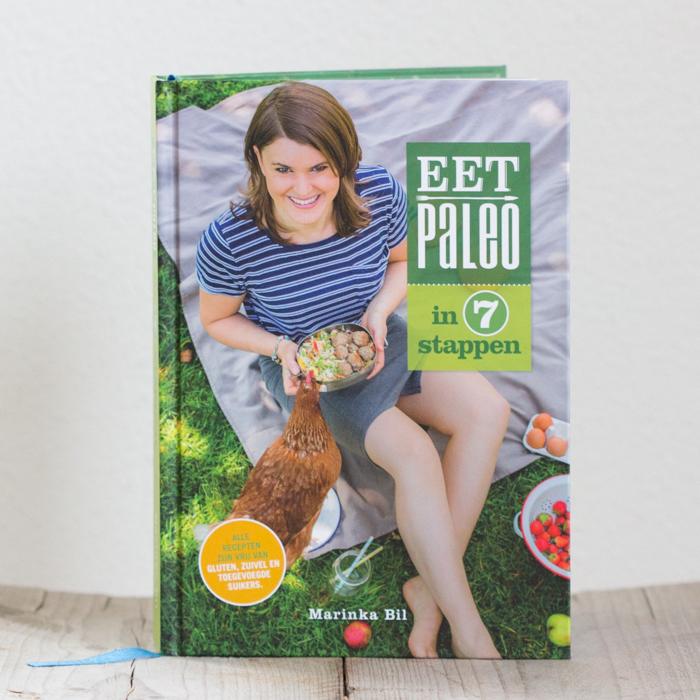 Eet Paleo in 7 Stappen kookboek recepten suikervrij glutenvrij lactosevrij gezond simpel makkelijk