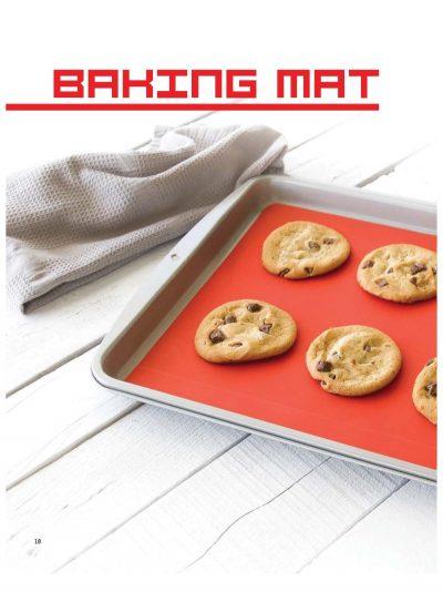 GIR siliconen bakmat rood bpa-vrij vaatwasser in de oven hittebestending