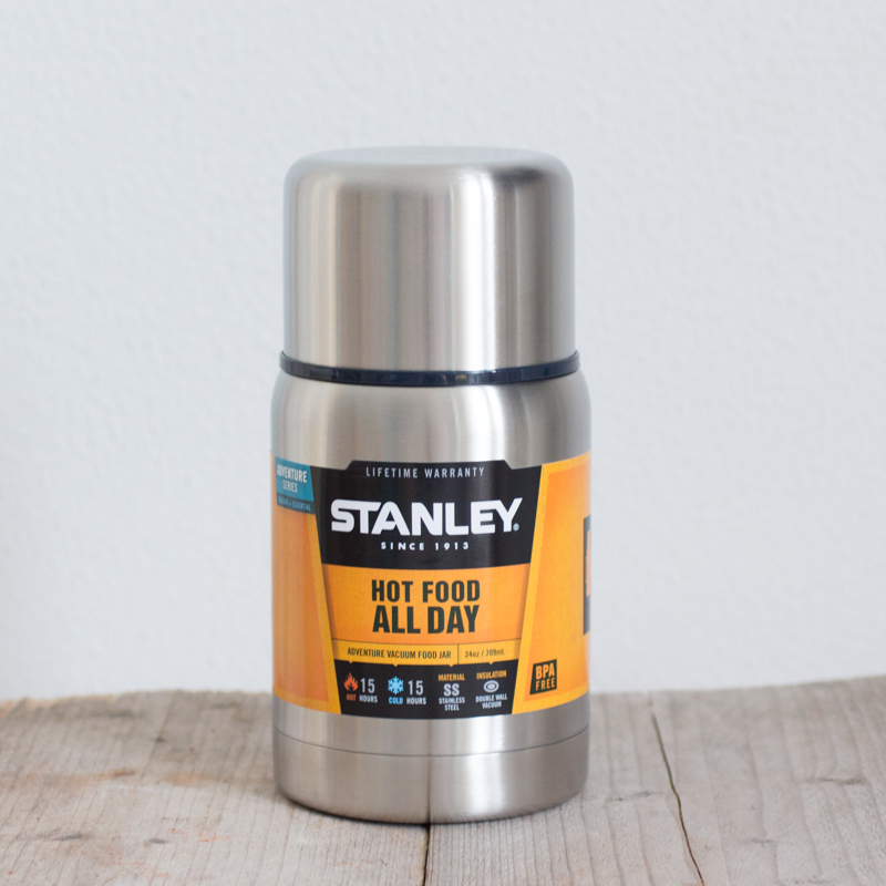 Stanley Adventure Food Jar 709 ml geïsoleerde thermos RVS BPA-vrij lekdicht