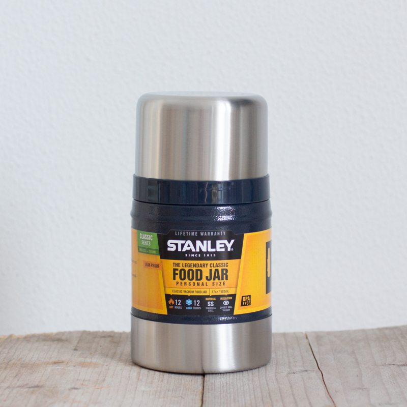 Stanley Classic Food Jar Blauw geïsoleerde thermos RVS BPA-vrij lekvrij