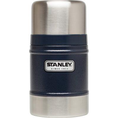 Stanley Classic Vacuum Geïsoleerde Food Jar 502 ml Blauw thermos BPA-vrij RVS lekvrij lunch warm houden