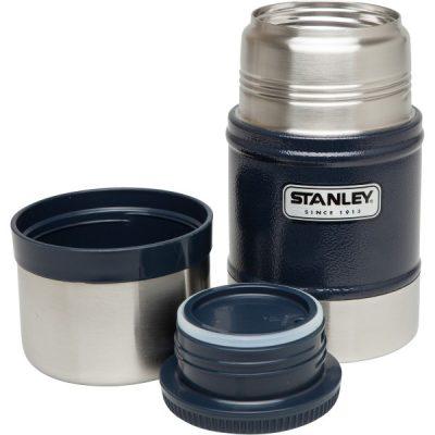 Stanley Classic Vacuum Geïsoleerde Food Jar 502 ml Blauw thermos BPA-vrij RVS lekvrij