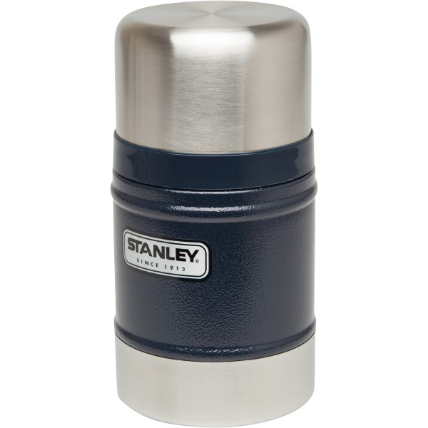 Stanley Classic Vacuum Geïsoleerde Food Jar 502 ml Blauw thermos BPA-vrij RVS lekvrij lunch warm