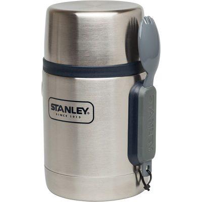 Stanley Adventure Vacuum Geïsoleerde Food Jar 532 ml met Spork thermos BPA-vrij RVS lekvrij lunch warm meenemen werk