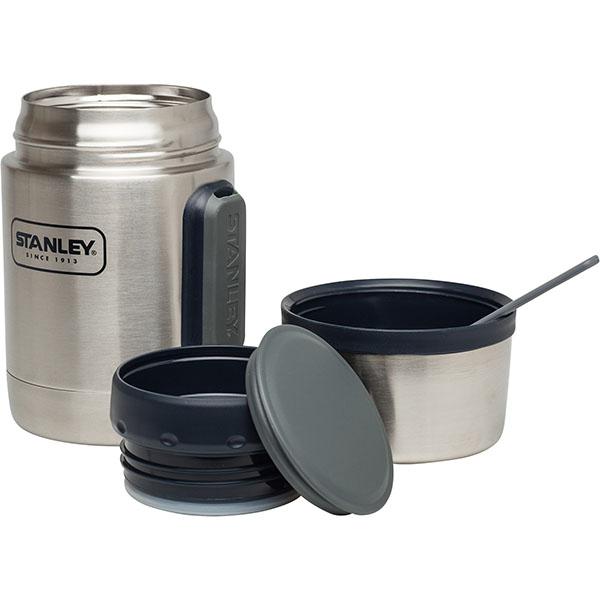 Stanley Adventure Vacuum Geïsoleerde Food Jar 532 ml met Spork thermos BPA-vrij RVS lekvrij soep warm meenemen werk
