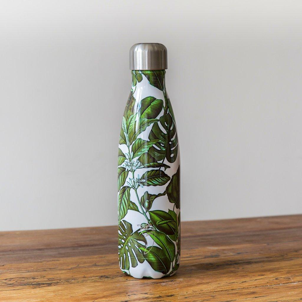Chilly's geïsoleerde drinkfles Palm Bottle 500 ml roestvrij staal duurzaam bpa vrij lekvrij rvs handige waterfles