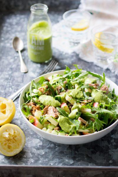 De Lekkerste Tonijnsalade Paleo Lunch kookboek suikervrije, lactosevrije en glutenvrije lunch recepten meenemen werk school makkelijk simpel