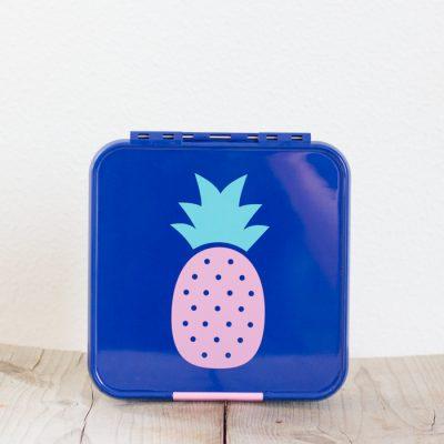 Little Lunch Box Ananas Bento Five lunchtrommel met 5 vakken kopen kinderen op school EetPaleo