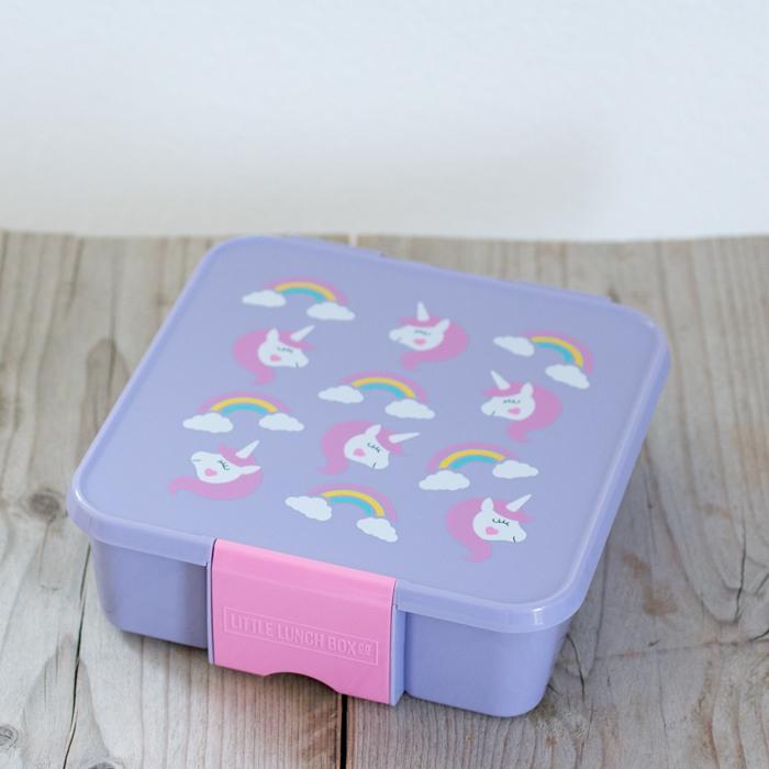 Little Lunch Box Eenhoorn Bento Five lunchtrommel met vakken voor kinderen kopen