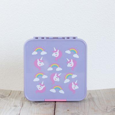 Little Lunch Box Eenhoorn bento lunchtrommel met 5 vakken voor kinderen kopen