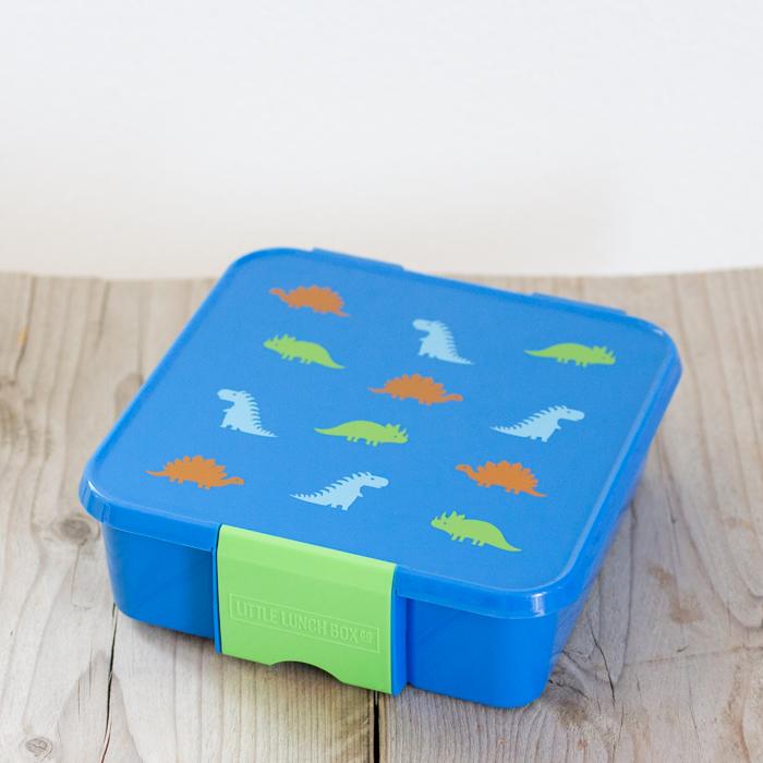 Little Lunch Box Dinosaurus bento lunchtrommel 3 vakken voor kinderen kopen