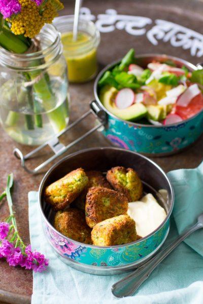 Paleo Falafel kookboek suikervrije, lactosevrije en glutenvrije lunch recepten meenemen werk school makkelijk simpel
