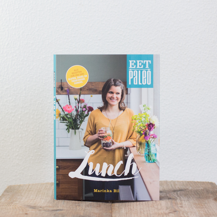 Paleo Lunch kookboek suikervrije, lactosevrije en glutenvrije lunch recepten meenemen werk school makkelijk simpel