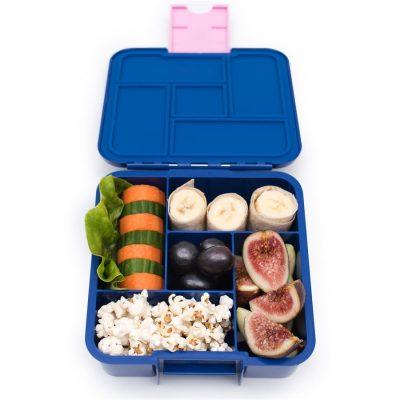 Little Lunch Box Ananas Bento Five lunchtrommel met 5 vakken kopen kinderen school makkelijk openen sluiten gezond eten