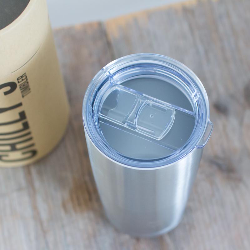 Chilly's lekvrije koffiebeker tumbler RVS 500 ml auto onderweg koffie staal BPA vrij lekdicht