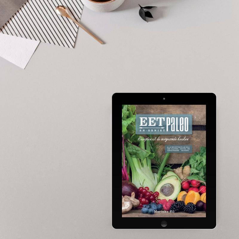 Het EetPaleo Kookboek e-book Paleo recepten Marinka Bil EetPaleo glutenvrij suikervrij lactosevrij gezond simpel