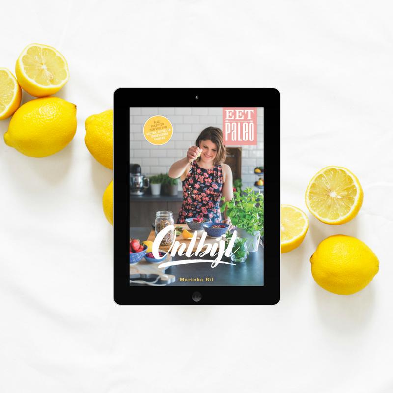 Paleo Ontbijt kookboek e-book glutenvrij Marinka Bil EetPaleo suikervrije recepten 's ochtends