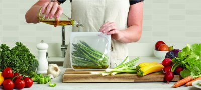 Stasher Bag Clear Doorzichtig 443 ml kopen milieuvriendelijk duurzaam ziplock zakje zipsluiting herbruikbaar broodzakje