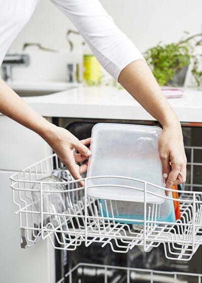 Stasher Bag Clear Doorzichtig 443 ml kopen milieuvriendelijk duurzaam ziplock zakje met zipsluiting bpa vrij vaatwasser
