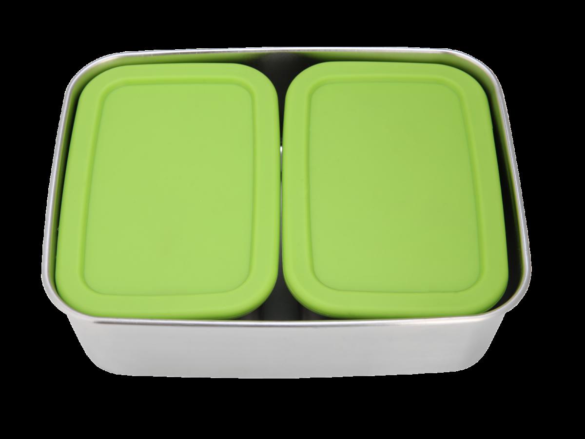 ECOtanka grote lunchbox met 2 pocketboxen broodtrommel met vakjes kopen