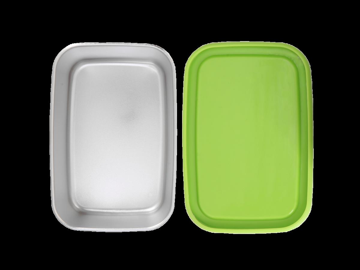 ECOtanka Pocketbox broodtrommel lunchbox met vakjes siliconen duurzaam