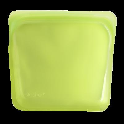 Stasher Bag Lime Limoen 443 ml kopen zonder plastic handig ziplock zakje zipsluiting vaatwasser