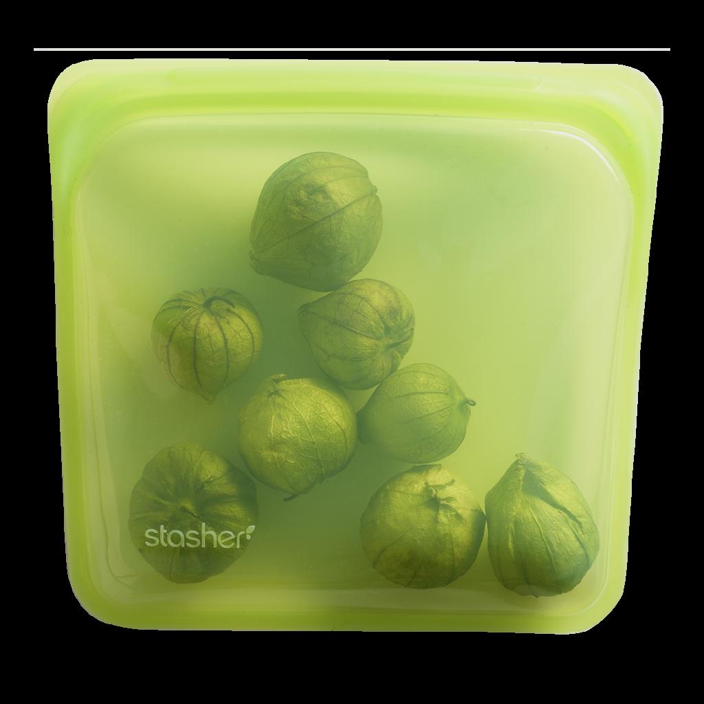 Stasher Bag Lime Limoen 443 ml kopen zonder plastic handig ziploc zakje zipsluiting vaatwasser