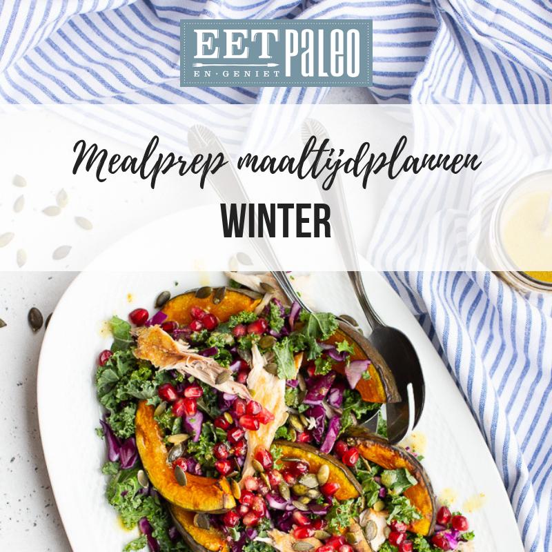 EetPaleo Mealprep maaltijdplannen winter